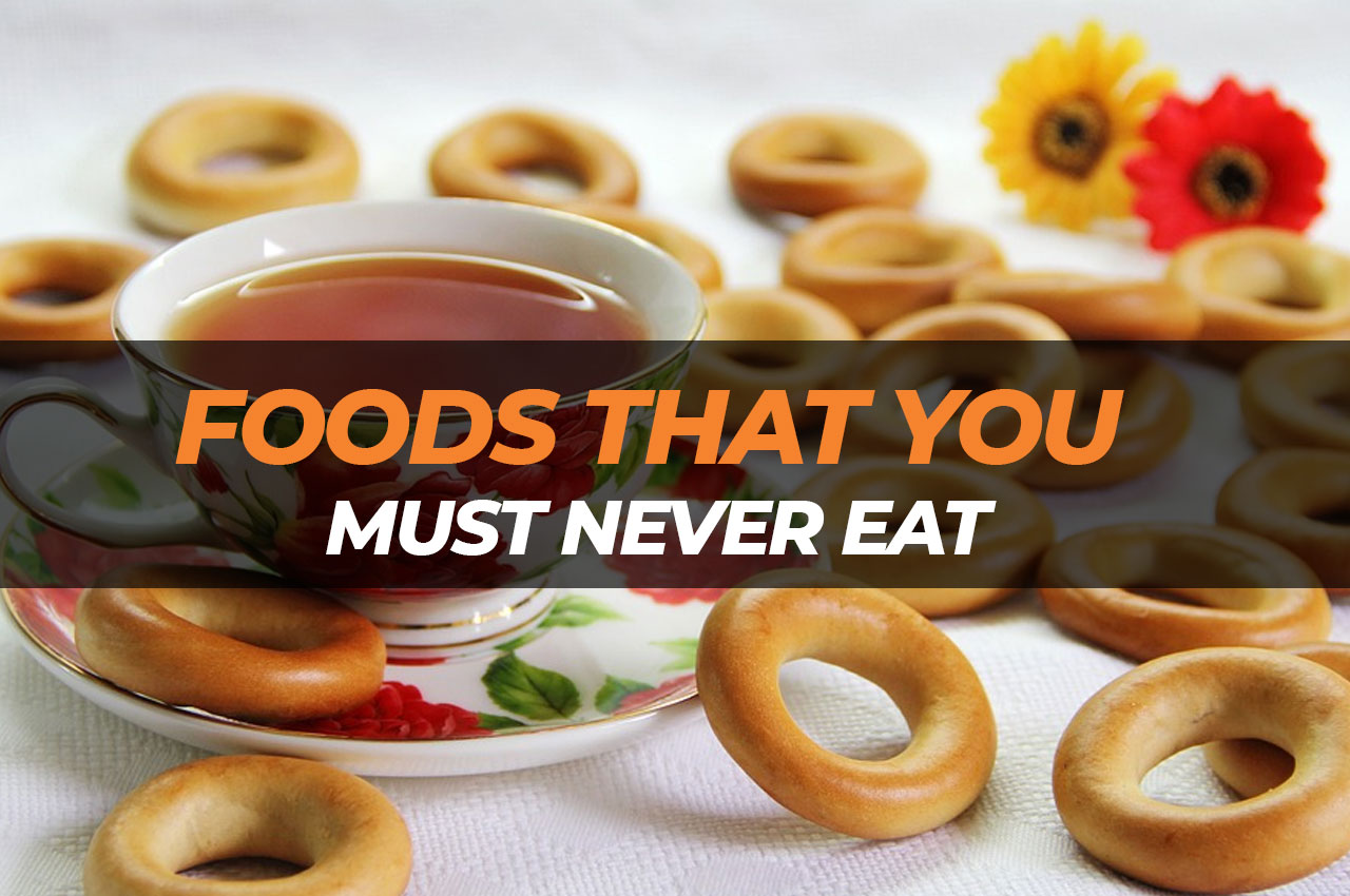 Some foods are such that you must never lay your hands on especially if you want to lose weight. They not only increase your weight, but they are also not good for your health.